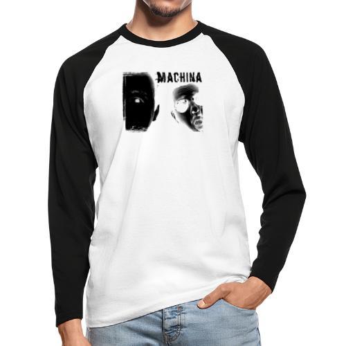 MACHINERIA - Männer Baseballshirt langarm