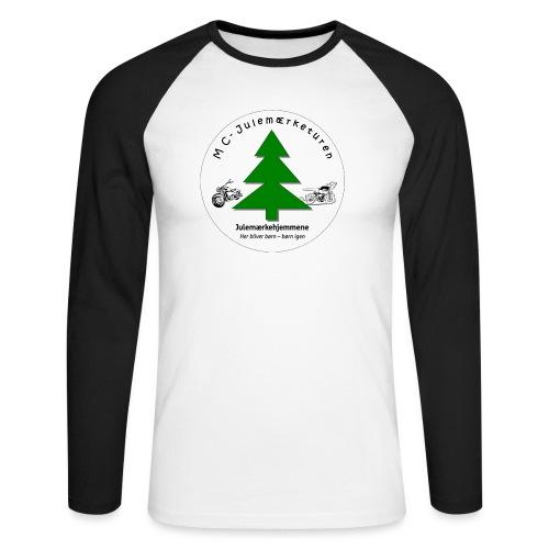 MCJul - Langærmet herre-baseballshirt