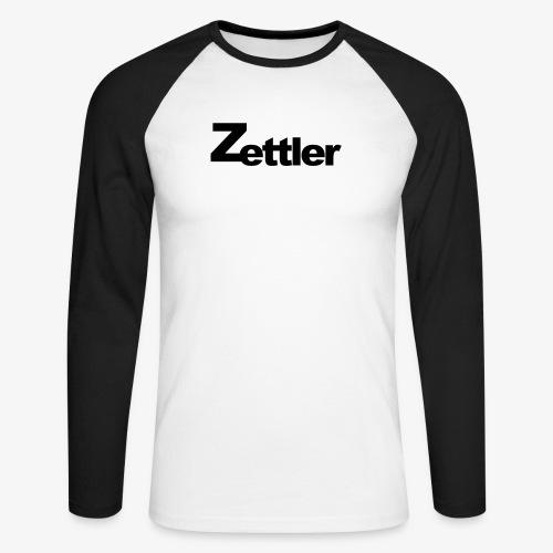 Zettler - Männer Baseballshirt langarm