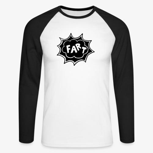 Fart 2019 LOGO - T-shirt baseball manches longues Homme