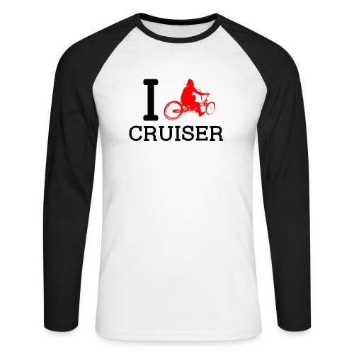 icruiser - T-shirt baseball manches longues Homme