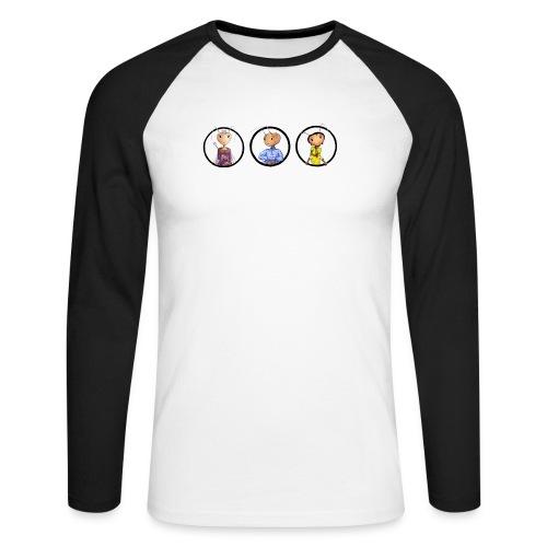 andimeisfelddrei02 - Männer Baseballshirt langarm