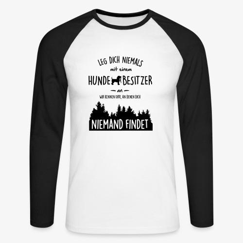 Hundebesitzer - Männer Baseballshirt langarm