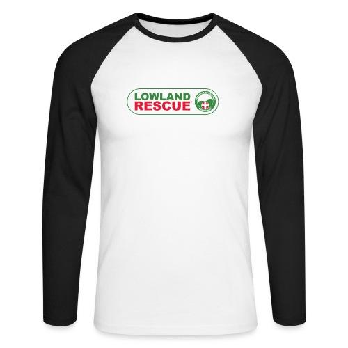 HANTSAR lozenge - Men's Long Sleeve Baseball T-Shirt