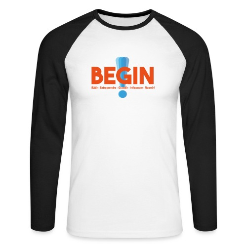 the begin project - T-shirt baseball manches longues Homme