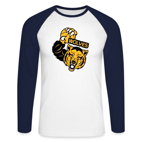Wolves Basketball - T-shirt baseball manches longues Homme
