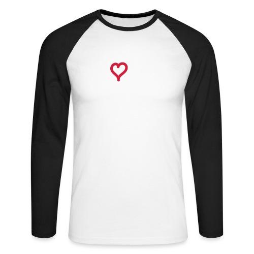 I love Kothe - Männer Baseballshirt langarm