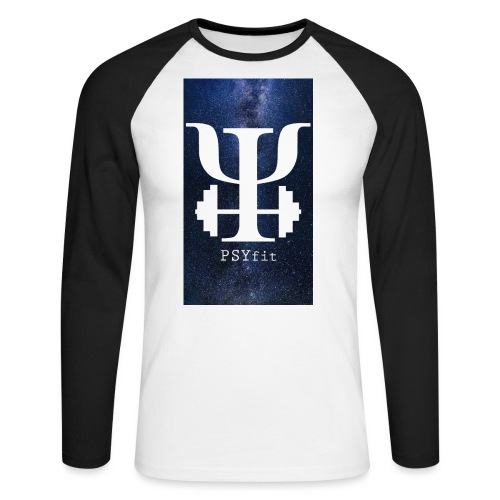 HUGE GALAXY BACKGROUND - Men's Long Sleeve Baseball T-Shirt