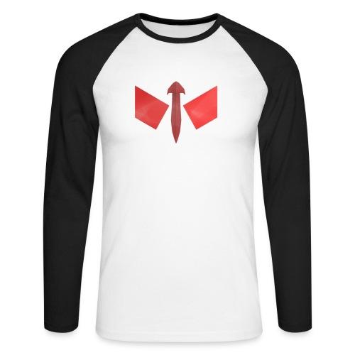 butterfly-png - Mannen baseballshirt lange mouw