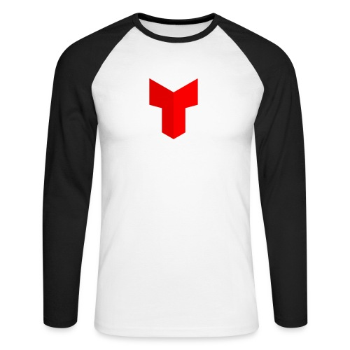 redcross-png - Mannen baseballshirt lange mouw