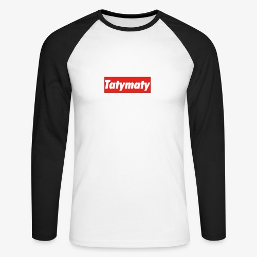 TatyMaty Clothing - Men's Long Sleeve Baseball T-Shirt