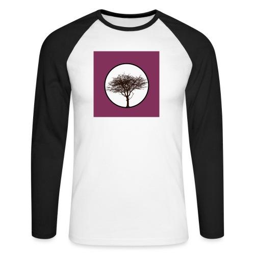 Baum in Kreis - Männer Baseballshirt langarm