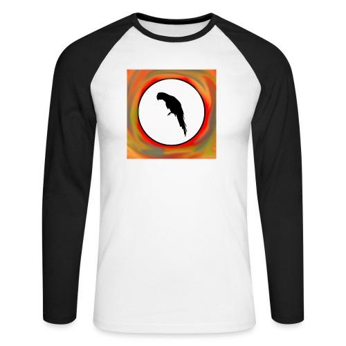 Papagei - Männer Baseballshirt langarm