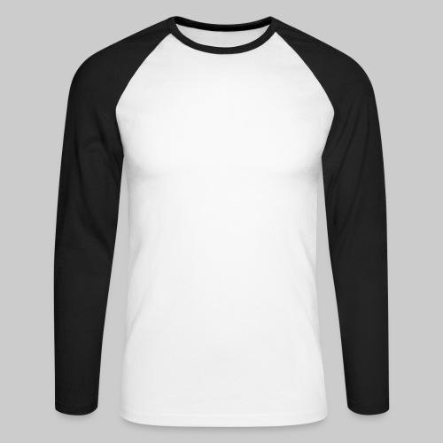 ISRAEL-white - Men's Long Sleeve Baseball T-Shirt