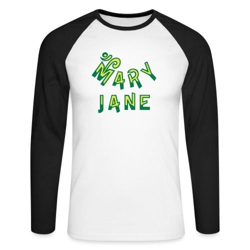 Mary Jane - Men's Long Sleeve Baseball T-Shirt