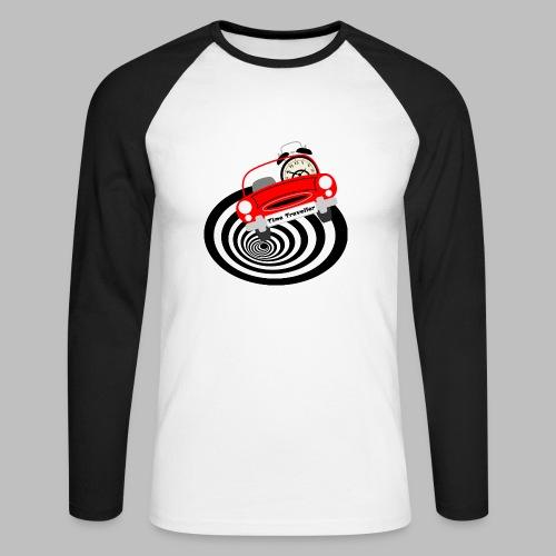 Time Traveller - Men's Long Sleeve Baseball T-Shirt