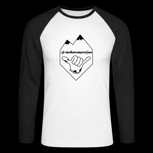 Madabe Logo Shirt 2 - Männer Baseballshirt langarm