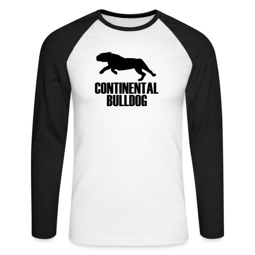 continentalbulldogbethv2a - Männer Baseballshirt langarm