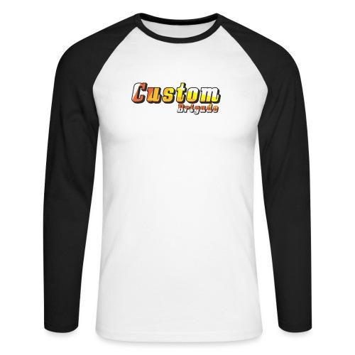 bandecb - T-shirt baseball manches longues Homme