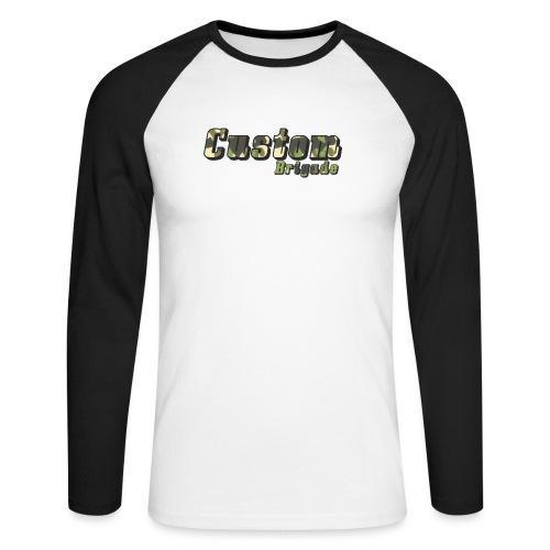 camoufcb - T-shirt baseball manches longues Homme