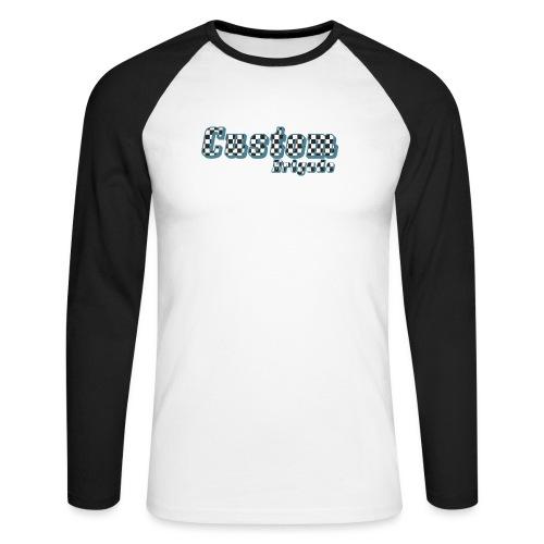 damiercb - T-shirt baseball manches longues Homme