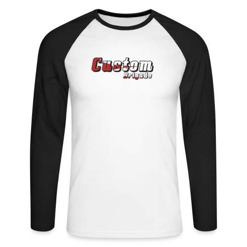 rougecb - T-shirt baseball manches longues Homme