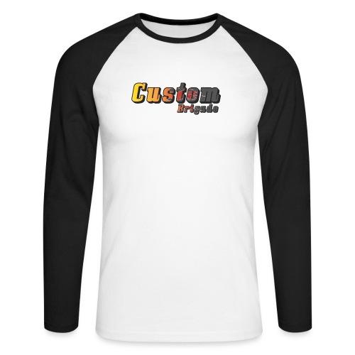 flammecb - T-shirt baseball manches longues Homme