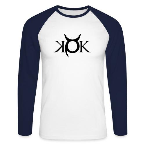 kokblack - Men's Long Sleeve Baseball T-Shirt
