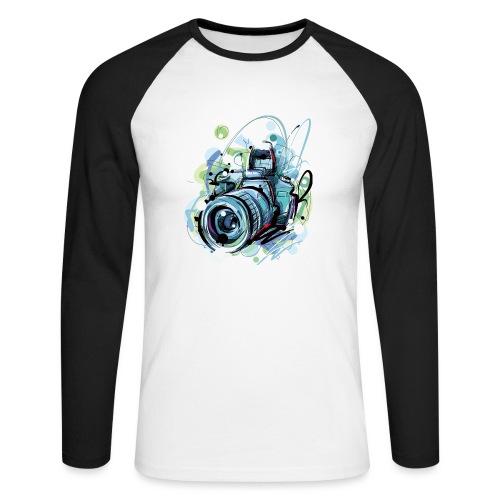 Camera - Men's Long Sleeve Baseball T-Shirt