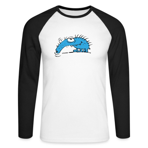 Rüsselkäfer - Männer Baseballshirt langarm