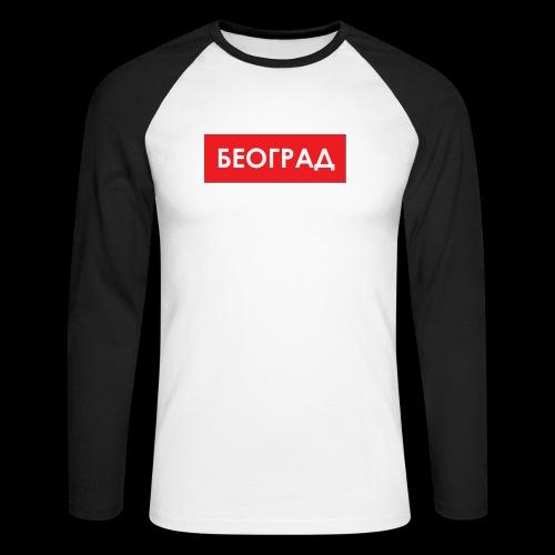 Beograd - Utoka - Männer Baseballshirt langarm