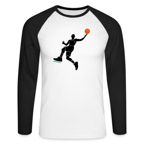 slamdunk_ball - Maglia da baseball a manica lunga da uomo