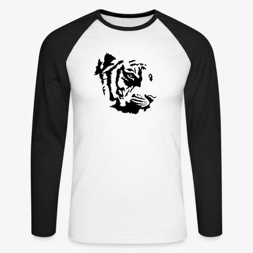 Tiger head - T-shirt baseball manches longues Homme