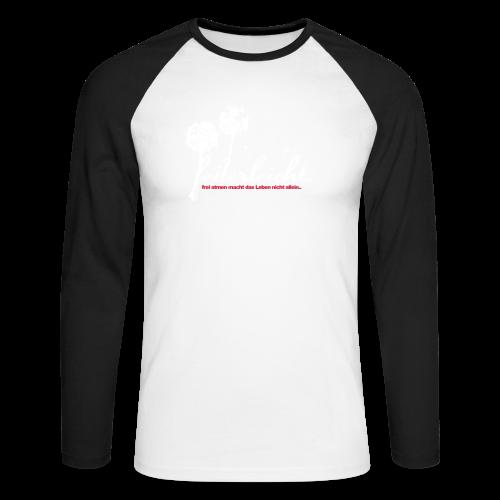 geweihbär Federleicht - Männer Baseballshirt langarm