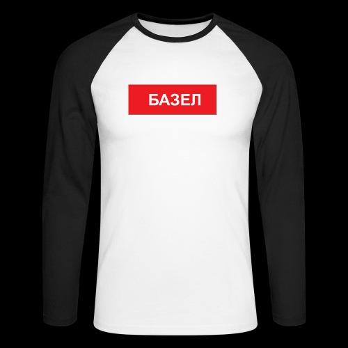 Basel - Utoka - Männer Baseballshirt langarm