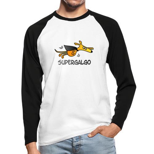 Supergalgo - Männer Baseballshirt langarm