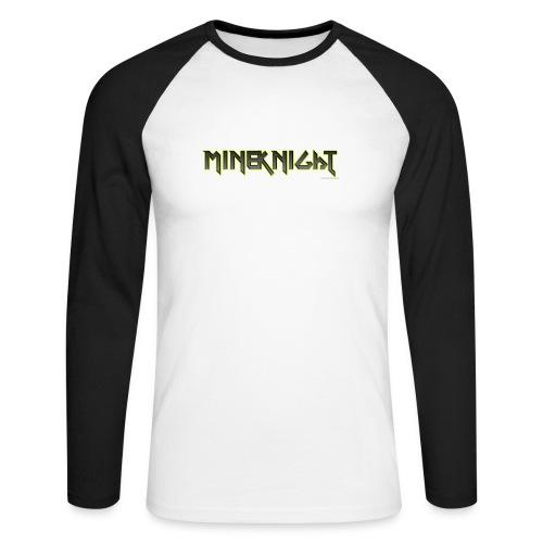 MineKnight T-shirt - Långärmad basebolltröja herr