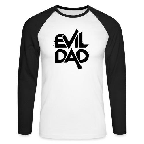 Evildad - Mannen baseballshirt lange mouw