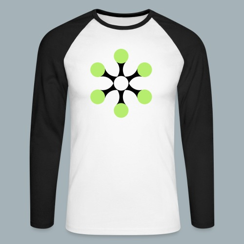 Star Bio T-shirt - Mannen baseballshirt lange mouw