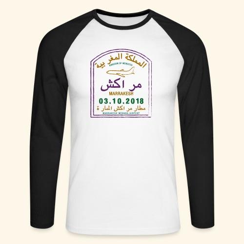 marrakeche - T-shirt baseball manches longues Homme