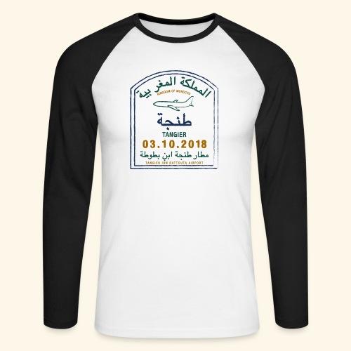 Tanger - T-shirt baseball manches longues Homme