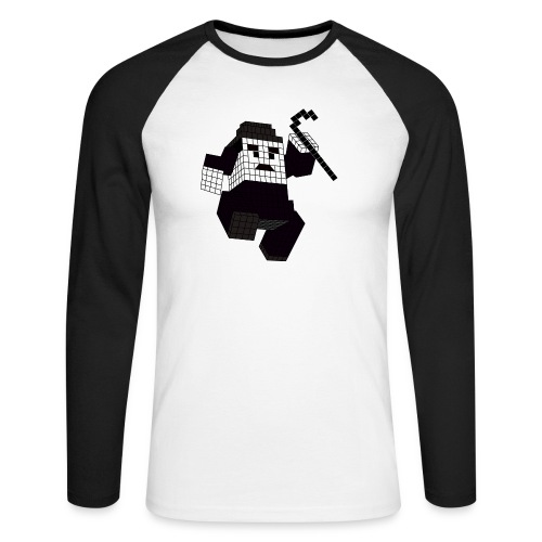 charlie - T-shirt baseball manches longues Homme