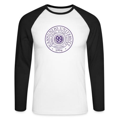 99 COSSE LOGO - Maglia da baseball a manica lunga da uomo
