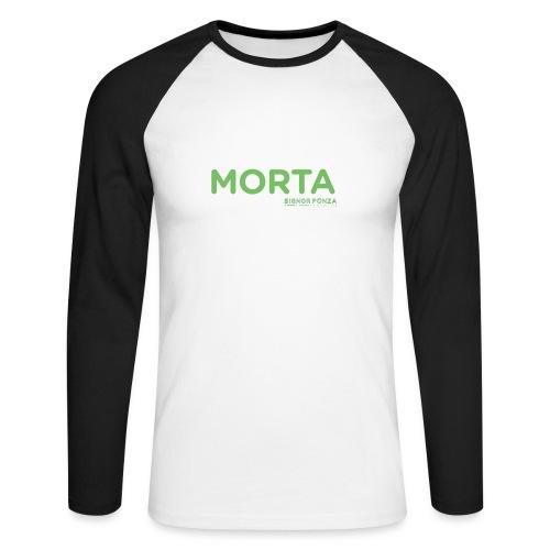 MORTA - Maglia da baseball a manica lunga da uomo