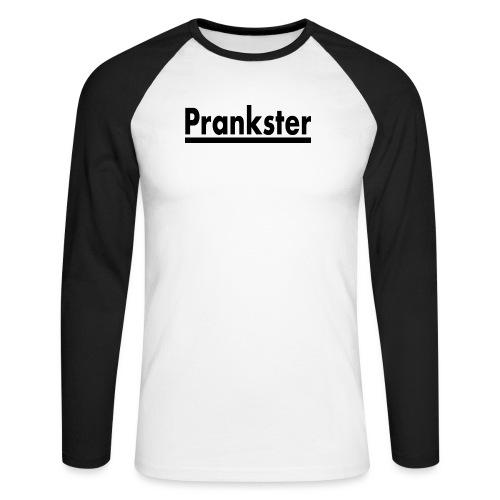 prankster komiker youtube - Männer Baseballshirt langarm