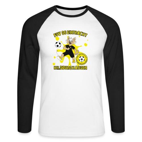 Hildburghausen ESKater - Männer Baseballshirt langarm