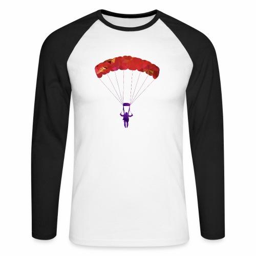 Le PARAPENTE ! - T-shirt baseball manches longues Homme