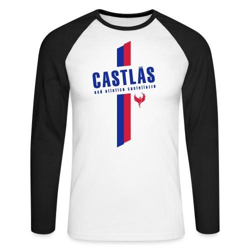 CASTLAS - Maglia da baseball a manica lunga da uomo