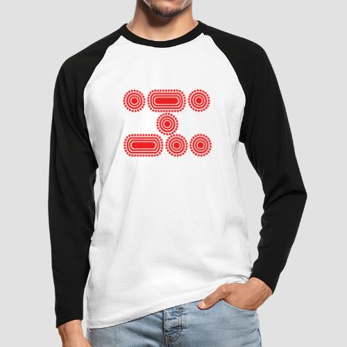 CODE RED - Men's Long Sleeve Baseball T-Shirt