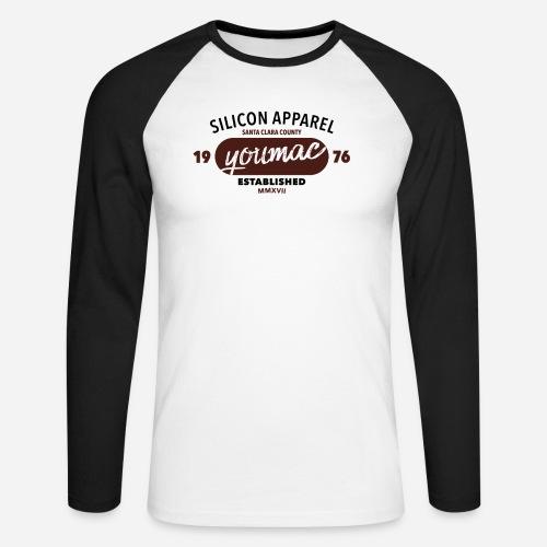 youmac est. MMXVII - Männer Baseballshirt langarm
